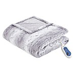 Beautyrest® Zuri Heated 70-Inch x 50-Inch Throw Blanket in Grey