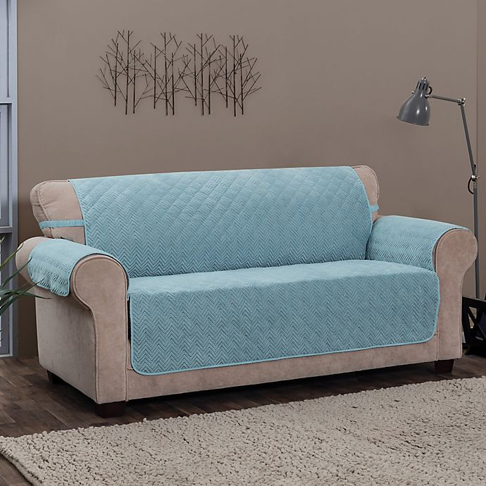 Innovative Textile Solutions Chevron Sofa Protector