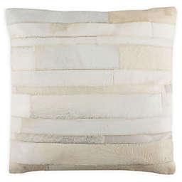 Safavieh Ruled Cowhide Throw Pillow