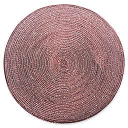 Shine Round Woven Placemat