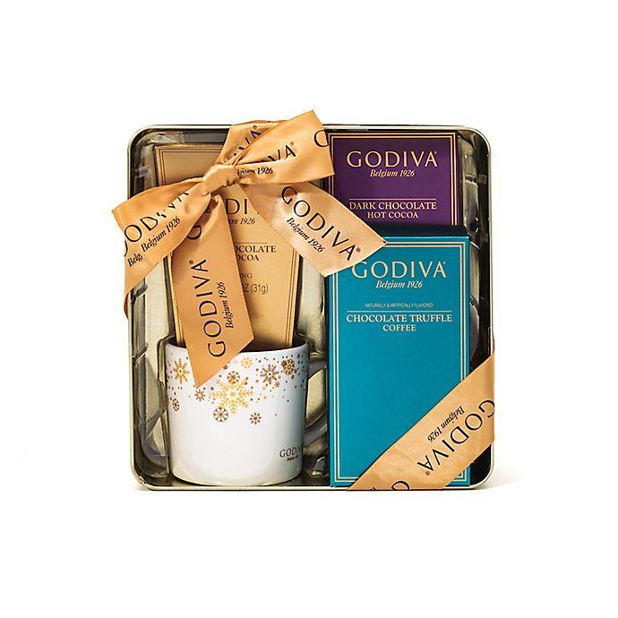Alternate image 1 for Godiva Hot Chocolate and Coffee Gift Set