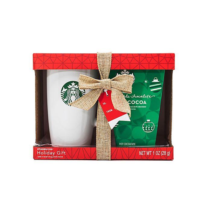 Starbucks Cocoa Travel Mug Gift Set Bed Bath Beyond