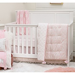 NoJo® Serendipity Mix and Match Elephant Crib Bedding Collection in Pink