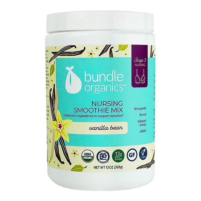 Alternate image 1 for Bundle Organics™ 13 oz. Vanilla Bean Nursing Smoothie Mix