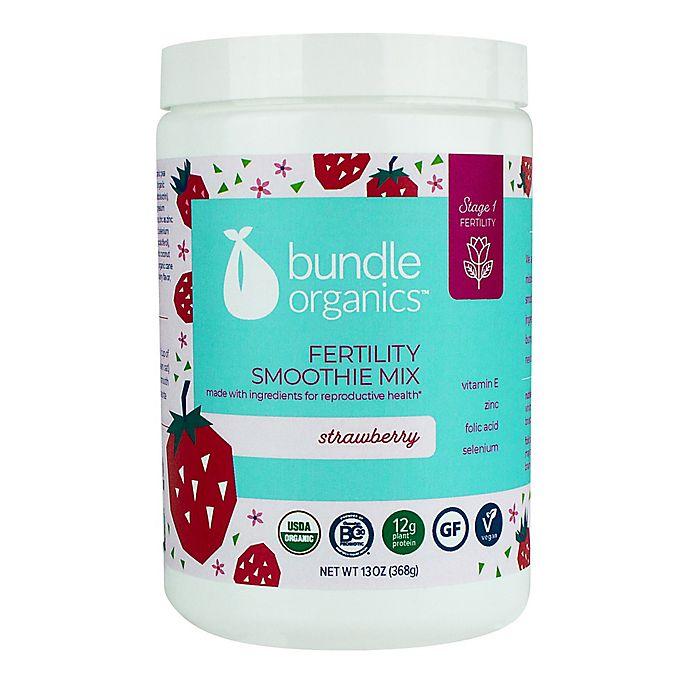Alternate image 1 for Bundle Organics™ 15.2 oz. Strawberry Fertility Smoothie Mix