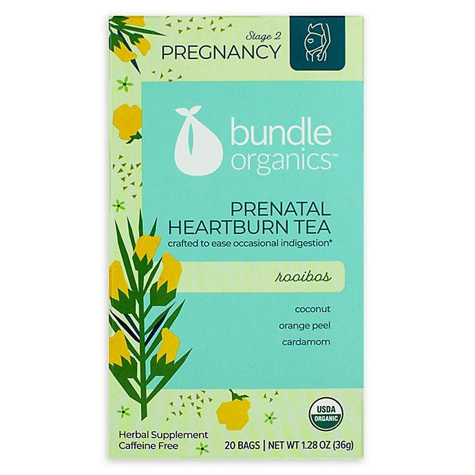 Alternate image 1 for Bundle Organics™ 20-Count Rooibos Prenatal Heartburn Relief Tea