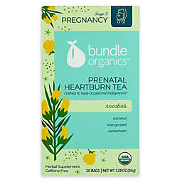 Bundle Organics™ 20-Count Rooibos Prenatal Heartburn Relief Tea