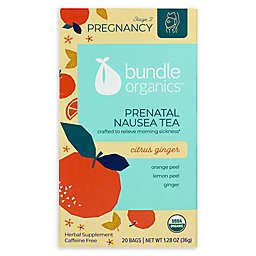 Bundle Organics™ 20-Count Citrus Ginger Prenatal Nausea Relief Tea