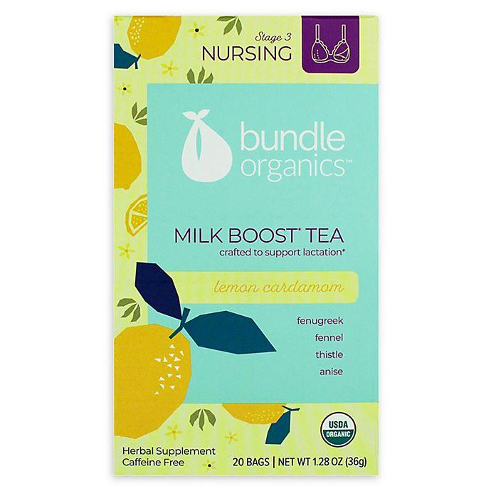 Alternate image 1 for Bundle Organics™ 20-Count Lemon Cardamom Milk Boost Tea