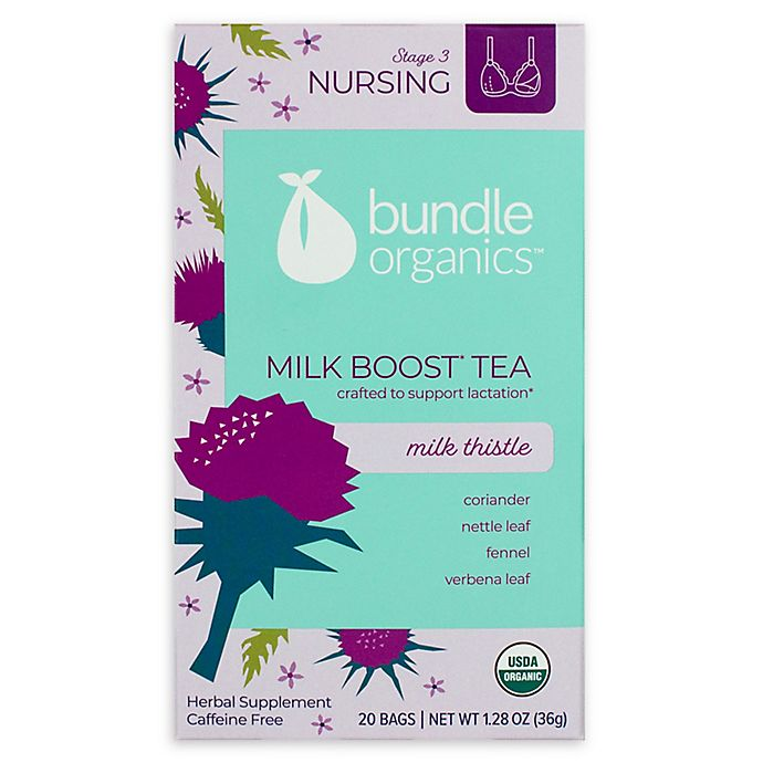 Alternate image 1 for Bundle Organics™ 20-Count Milk Thistle Milk Boost Tea