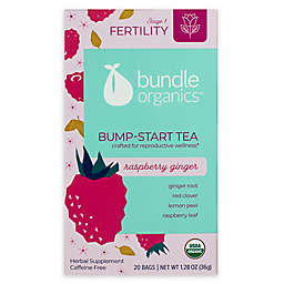 Bundle Organics™ 20-Count Raspberry Ginger Bump-Start Tea