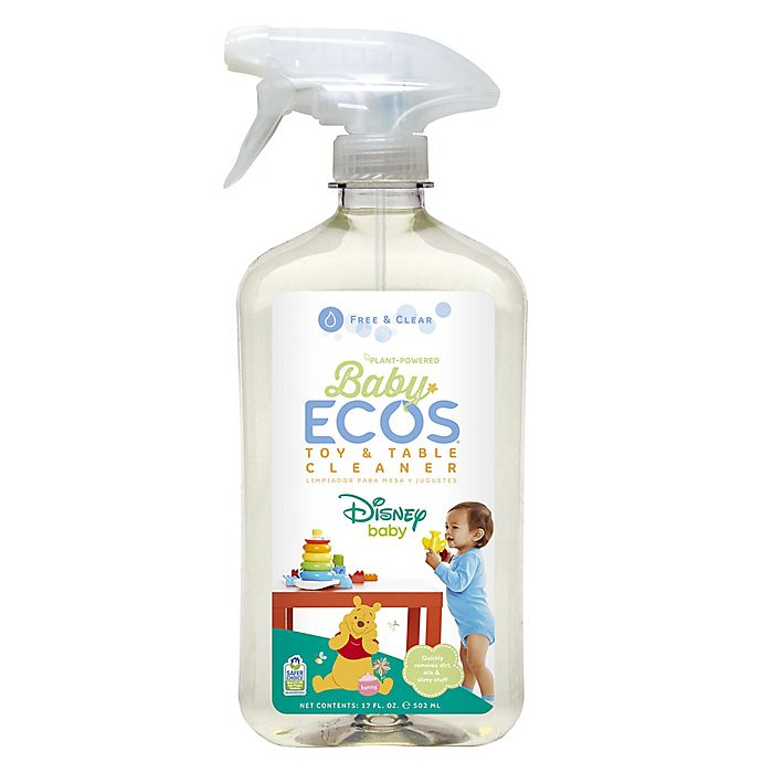 Alternate image 1 for Baby ECOS® Disney Baby® 17 oz. Toy & Table Cleaner