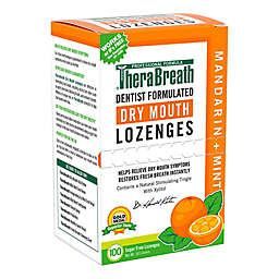 Dr. Katz TheraBreath® 100-Count Mouth Wetting Fresh Breath Lozenges in Mandarin Mint