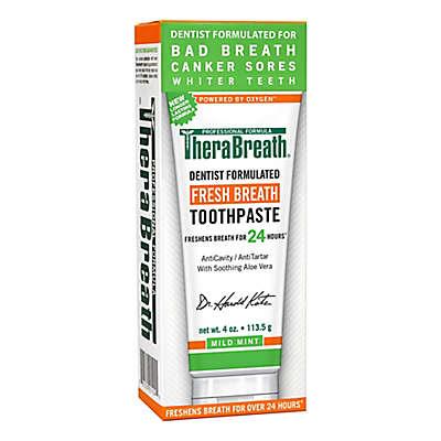 Dr. Katz TheraBreath 4 oz. Fresh Breath Oxygenating Toothpaste