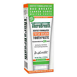Dr. Katz TheraBreath 4 oz. Fresh Breath Oxygenating Toothpaste