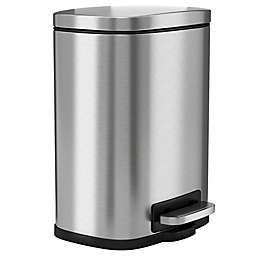 halo Premium Stainless Steel 1.32-Gallon Step Can