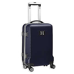 """Denco Initial """"H"""" 21-Inch Hardside Spinner Carry On Luggage"""