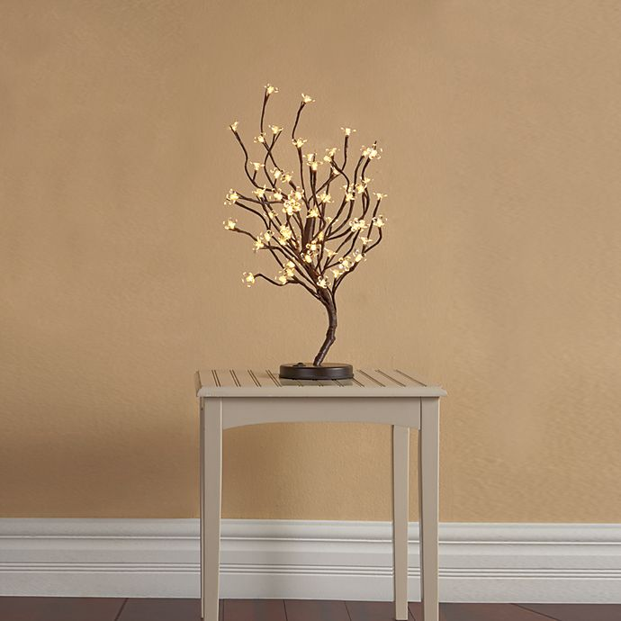 Alternate image 1 for Plug-In LED 22-Inch Lighted Blossom Tree