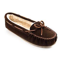 Minnetonka® Cally Size 7 Women's Slippers in Chocolate