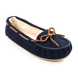 Minnetonka® Cally Size 8 Women's Slippers in Navy