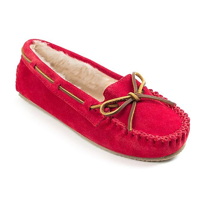 Alternate image 1 for Minnetonka® Cally Size 8 Women's Slippers in Red