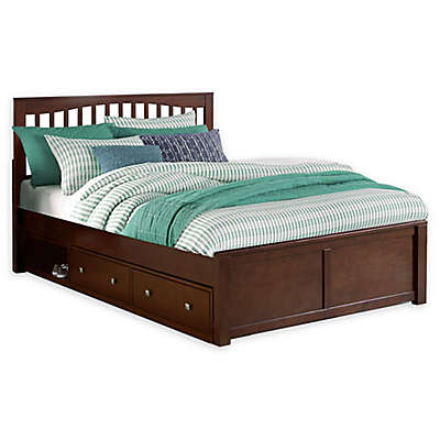 Hillsdale Furniture Pulse Mission Bed with Storage