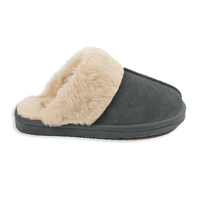Alternate image 1 for Minnetonka® Chesney Size 9 Women's Slippers in Charcoal