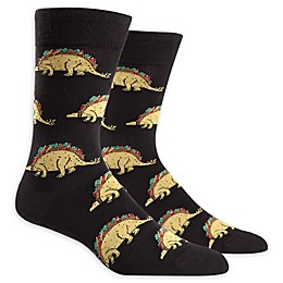 Sock It to Me Tacosaurus Men's Crew Socks