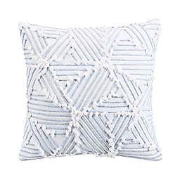 Sedona Lazar 18-Inch Square Throw Pillow in White