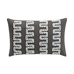 Sedona Lazar Oblong Throw Pillow in Grey