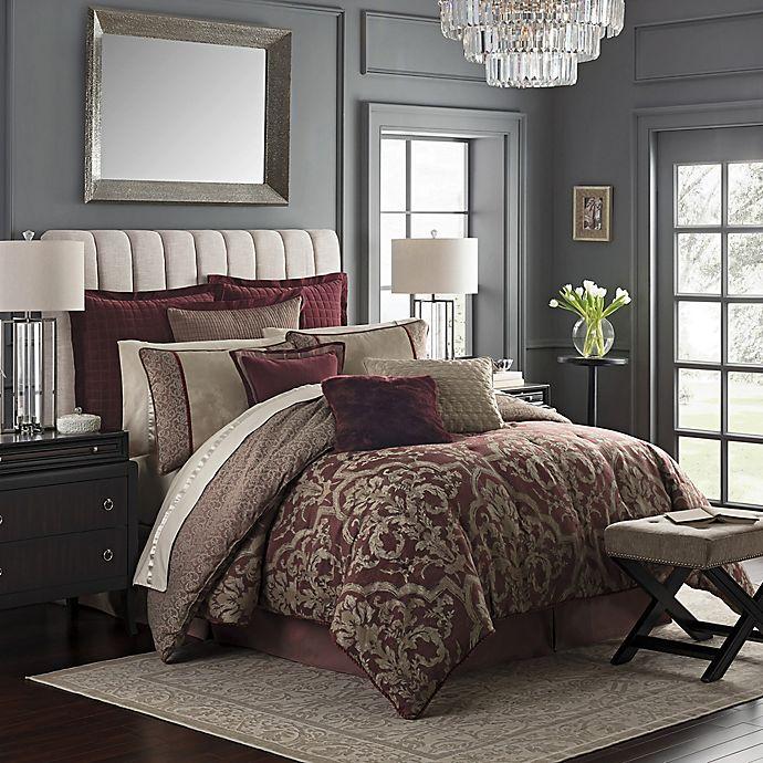 Alternate image 1 for Waterford® Amarah Reversible Comforter Set