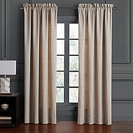 Waterford® Asher 84-Inch Rod Pocker Window Curtain Panel Pair in Ivory