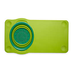 squish® Cutting Board with Collapsible Colander