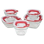 Rubbermaid® 10-Piece Glass Food Storage Container Set with Easy-Find Lid