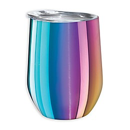 Oggi™ Cheers™ Stainless Steel Wine Tumbler in Rainbow