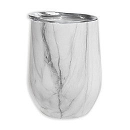 Oggi™ Cheers™ Stainless Steel Wine Tumbler in Marble