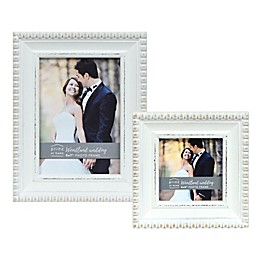 Prinz Woodland Wedding Photo Frame in White