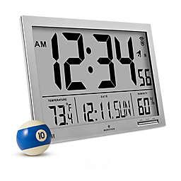 Slim Jumbo Atomic Digital Clock