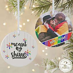 Love Wins Personalized Pride Ornament
