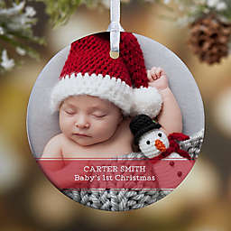 1-Sided Glossy Precious Photo Message Personalized Ornament