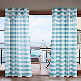 Madison Park Percee 3M Scotchgard Grommet Outdoor Window Curtain Panel