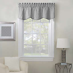 Rings Embroidered Window Valance