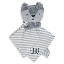 Gerber® Fox Organic Cotton Security Blanket in Grey