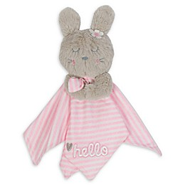 Gerber® Bunny Organic Cotton Security Blanket in Pink