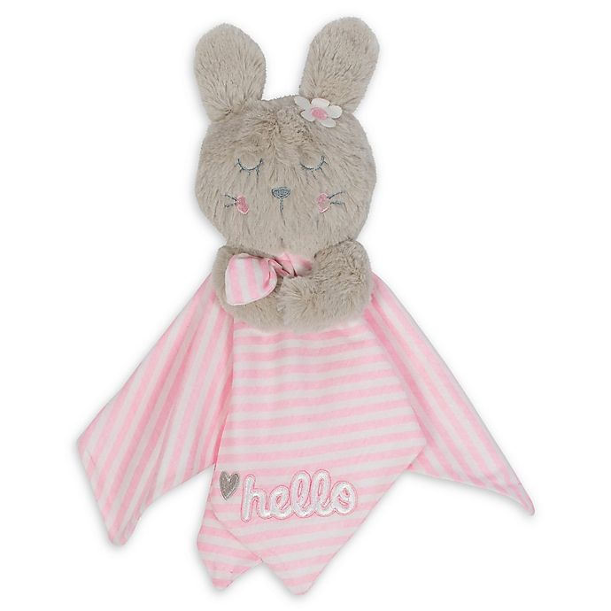 Alternate image 1 for Gerber® Bunny Organic Cotton Security Blanket in Pink