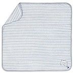 "Gerber® Striped ""Adventure Awaits"" Blanket in Grey/Ivory"