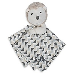 Gerber® Hedgehog Organic Cotton Security Blanket in Taupe