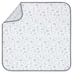 Gerber® Clouds and Stars Organic Cotton Blanket in Grey