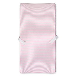 Gerber® Pink Striped Organic Cotton Changing Pad Cover