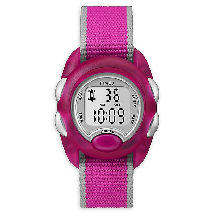 Alternate image 1 for Timex® Time Machines Children's 34mm TW2R990009J Digital Watch